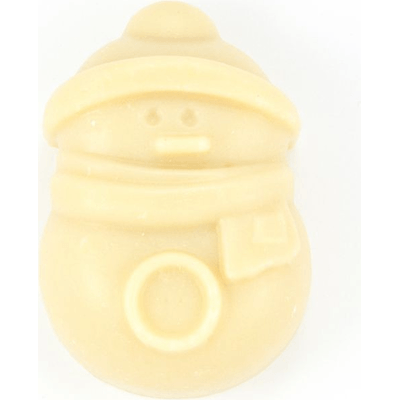 Mydło naturalne delikatne z kozim mlekiem - Bałwanek Miodowa Mydlarnia