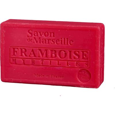 Mydło marsylskie z olejem ze słodkich migdałów - Malina jagoda Le Chatelard