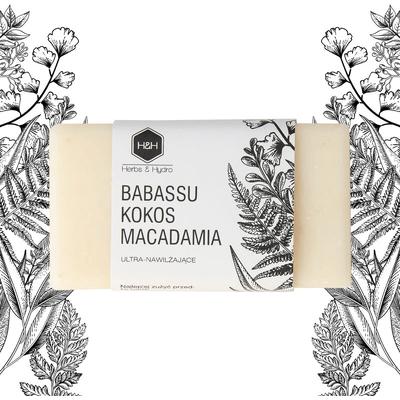 Mydło w kostce - Babassu kokos i macadamia Herbs&Hydro
