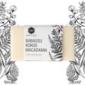 Mydło w kostce - Babassu kokos i macadamia