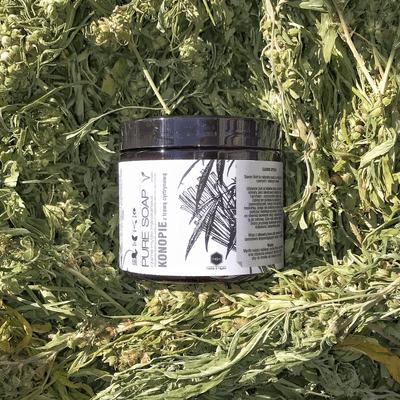 Mydło czarne - Konopie i trawa cytrynowa Herbs&Hydro