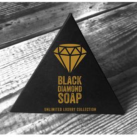 Sadza Soap Black diamond soap - czarne mydło z węglem aktywnym