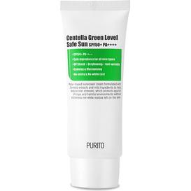 Purito Centella Green Level Safe Sun - Ochronny krem przeciwsłoneczny SPF50+ PA++++