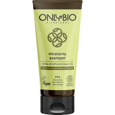 Szampon micelarny do włosów przetłuszczających się - tuba OnlyBio