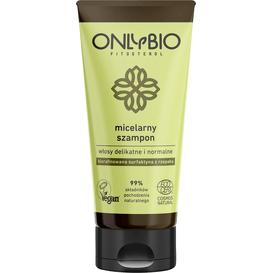 OnlyBio Szampon micelarny do włosów delikatnych i normalnych - tuba, 200 ml