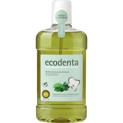 Ekologiczny wielofunkcyjny płyn do higieny jamy ustnej Ecodenta