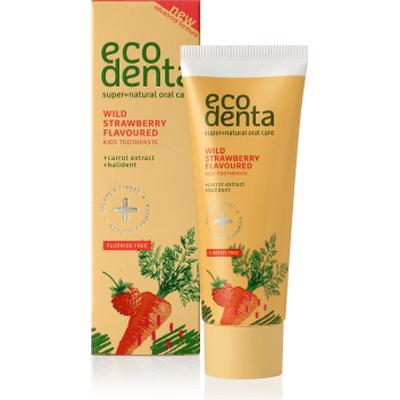 Pasta do zębów dla dzieci o smaku poziomki Ecodenta