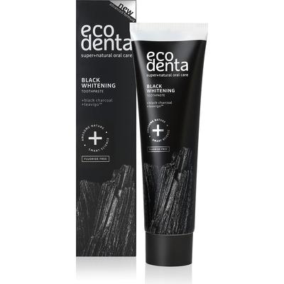 Ekologiczna wybielająca czarna pasta do zębów z węglem drzewnym Ecodenta