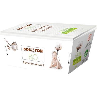 Patyczki higieniczne dla dzieci i niemowląt 60 szt. BIO Bocoton