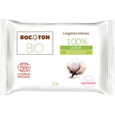 Chusteczki do higieny intymnej 20szt. BIO Bocoton