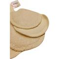 Soft Moon - Wielorazowe organiczne płatki kosmetyczne niebielone 5 szt. + woreczek do prania