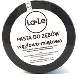 La-Le Kosmetyki Pasta do zębów miętowo-węglowa, 100 ml