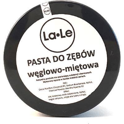 Pasta do zębów miętowo-węglowa La-Le Kosmetyki