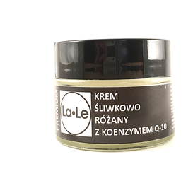 La-Le Kosmetyki Krem śliwkowo-różany z koenzymem Q10, 60 ml