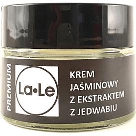 La-Le Kosmetyki Krem jaśminowy z ekstraktem z jedwabiu, 60 ml