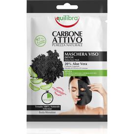Equilibra Oczyszczająca maska do twarzy z aktywnym węglem