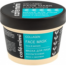 Cafe Mimi Maska do twarzy kolagenowa - morszczyn i listownica, 110 ml