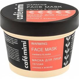 Cafe Mimi Maska do twarzy ciepła - żurawina i jojoba