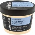 Maska do twarzy oczyszczona cera - błękitna glinka i szałwia