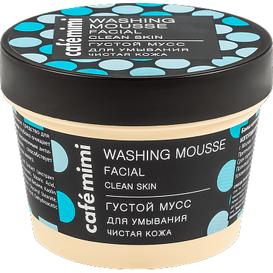 Cafe Mimi Gęsty mus do mycia twarzy - oczyszczona cera