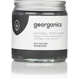Georganics Naturalna pasta do zębów mineralna z węglem aktywnym, 120 ml