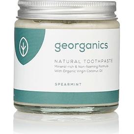 Georganics Naturalna pasta do zębów mineralna - Zielona mięta, 120 ml