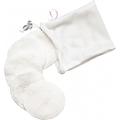 Soft Moon - Wielorazowe organiczne płatki kosmetyczne białe 5 szt. + woreczek do prania