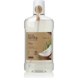 Ecodenta Miętowy i kokosowy płyn do płukania jamy ustnej - Cosmos Organic, 500 ml