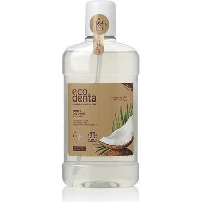 Miętowy i kokosowy płyn do płukania jamy ustnej - Cosmos Organic Ecodenta