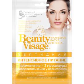Fitocosmetic Peptydowa maska do twarzy w płachcie - Intensywne odżywianie