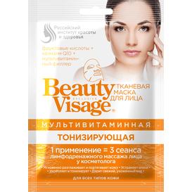 Fitocosmetic Multiwitaminowa maska do twarzy w płachcie - Tonizująca 25 ml
