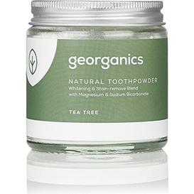 Georganics Proszek do czyszczenia zębów mineralny - Drzewo herbaciane