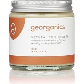 Georganics Naturalna pasta do zębów mineralna - Czerwone mandarynki