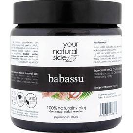 Your Natural Side Olej babassu organiczny