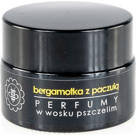 Miodowa Mydlarnia Perfumy w wosku pszczelim - Bergamotka z paczulą, 15 g