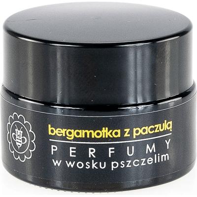 Perfumy w wosku pszczelim - Bergamotka z paczulą Miodowa Mydlarnia
