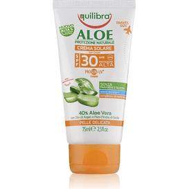 Equilibra Aloesowy krem przeciwsłoneczny SPF 30 UVA, UVB, 75 ml