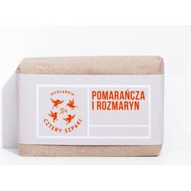 Mydlarnia Cztery Szpaki Mydło pomarańcza i rozmaryn, 110 g