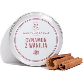 Mus do ciała cynamon z wanilią / Mydlarnia Cztery Szpaki