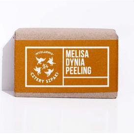 Mydlarnia Cztery Szpaki Mydło melisa dynia peeling, 110 g