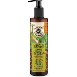 Planeta Organica Organic Baobab - Żel pod prysznic, 280 ml