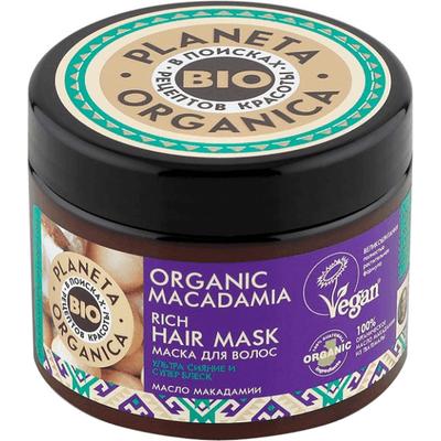 Organic Macadamia - Maska do włosów Planeta Organica