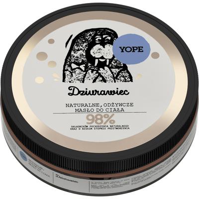 Naturalne masło do ciała - Dziurawiec Yope
