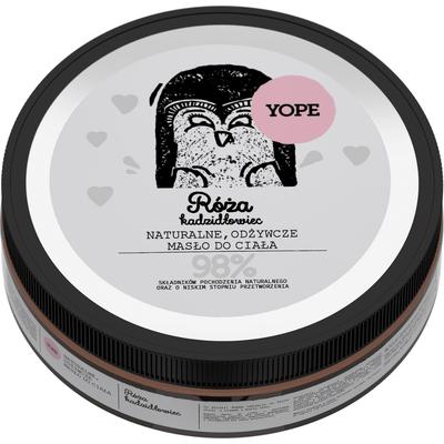 Naturalne masło do ciała -  Róża i kadzidłowiec Yope