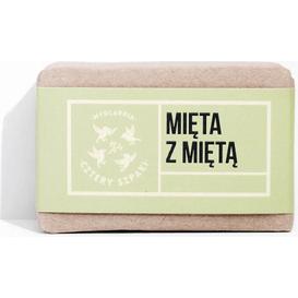 Mydlarnia Cztery Szpaki Orzeźwiające mydło mięta z mięta, 110 g