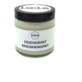 La-Le Kosmetyki Dezodorant ekologiczny w kremie - Brzoskwinia, 120 ml