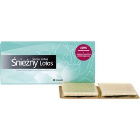 Akcesoria Spa Śnieżny Lotos - Ziołowe wkładki higieniczne o działaniu antybakteryjnym