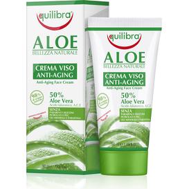 Equilibra Aloesowy krem do twarzy przeciwstarzeniowy