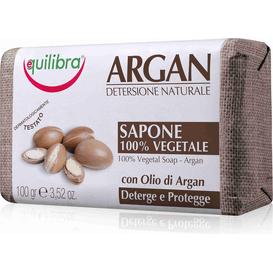 Equilibra Mydło z olejem arganowym, 100 g