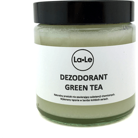 La-Le Kosmetyki Dezodorant ekologiczny w kremie - Green Tea, 120 ml